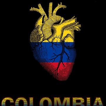 Colombia is in my heart by francodelgrando