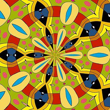 Kaleidoscope 01 by patricmouth