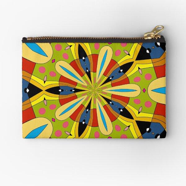 Kaleidoscope 01 Zipper Pouch