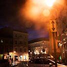 Vilnius at night (My city) by Antanas