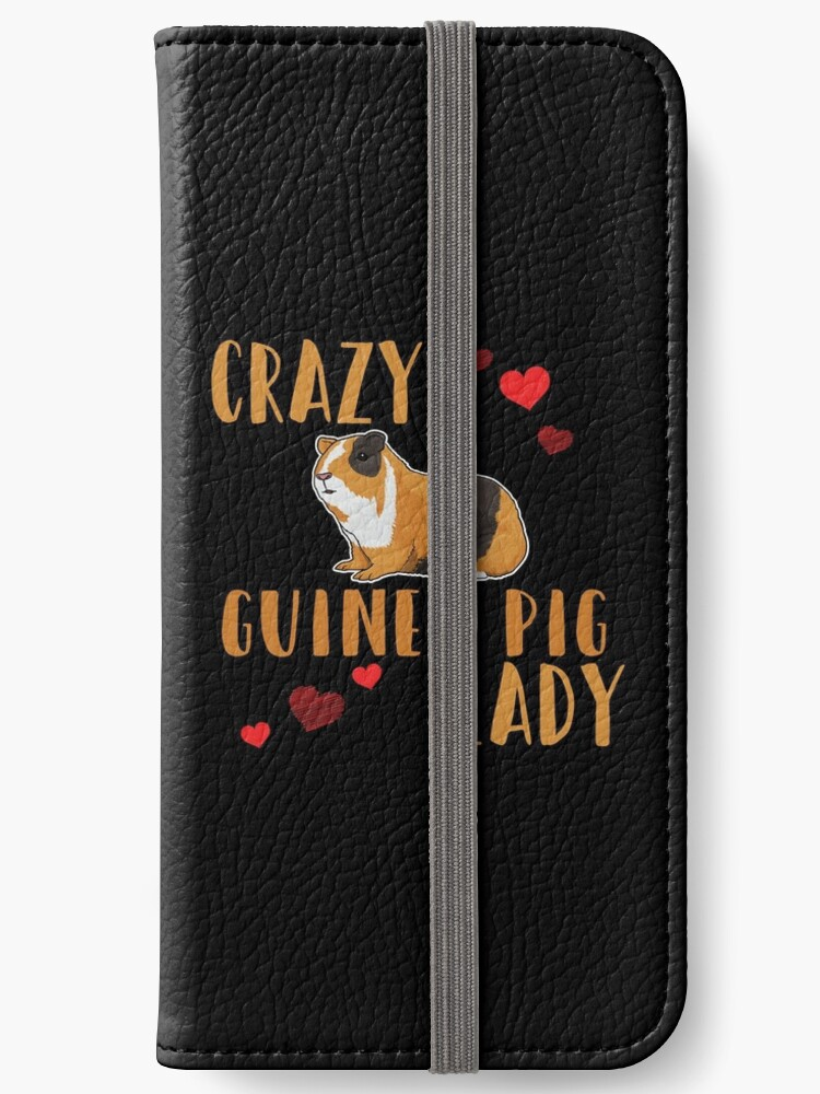 finest selection 0b340 24cca 'Guinea Pig Design Womens - Crazy Guinea Pig Lady' iPhone Wallet by  kudostees