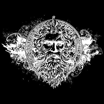 GOD Powerful Symbol of STRENGTH Bearded Old Wise Man by mrkprints