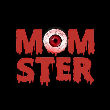 Funny Halloween Shirt for Mom Mom-Ster Tee Gift idea by MrTStyle