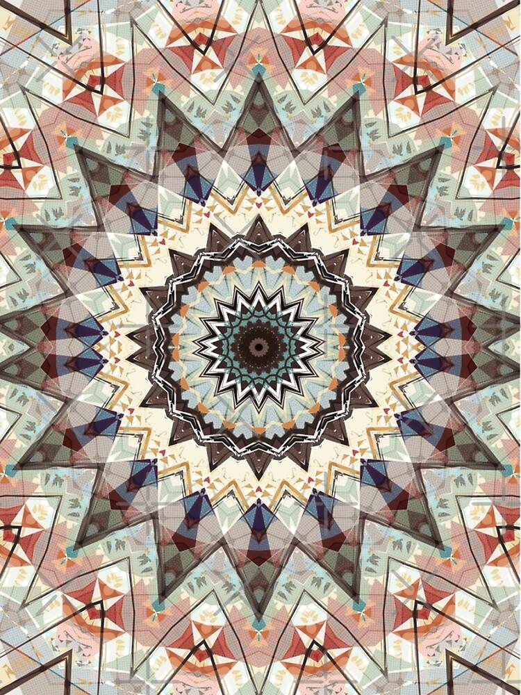 Colors of Autumn Mandala by perkinsdesigns
