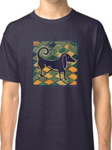DOG KITCHEN CERAMIC TILES FLOOR Classic T-Shirt