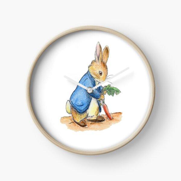 Nursery Characters, Peter Rabbit, Beatrix Potter. Clock