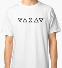 Hexer-Zeichen Classic T-Shirt