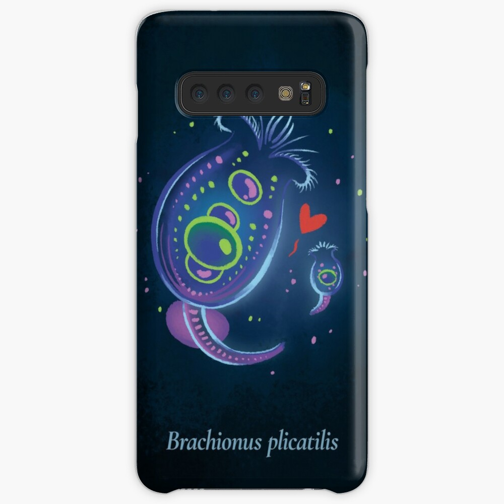 The Circles of Life: Brachionus plicatilis Case & Skin for Samsung Galaxy