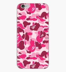 Rosa Camouflage iPhone-Hülle & Cover