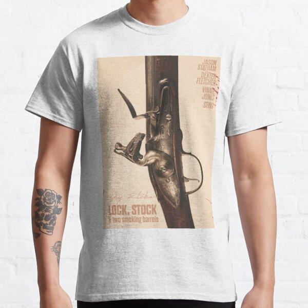 Smoking Barrels frauduleux Hommes T Shirt Lock film Stock Ritchie film britannique deux