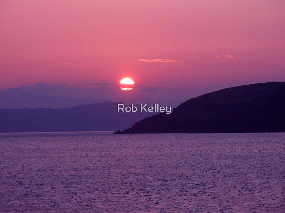 Applecross Sunset (Scotland) by Rob Kelley