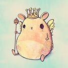Prince Angel of Bunnyland by mikekoubou