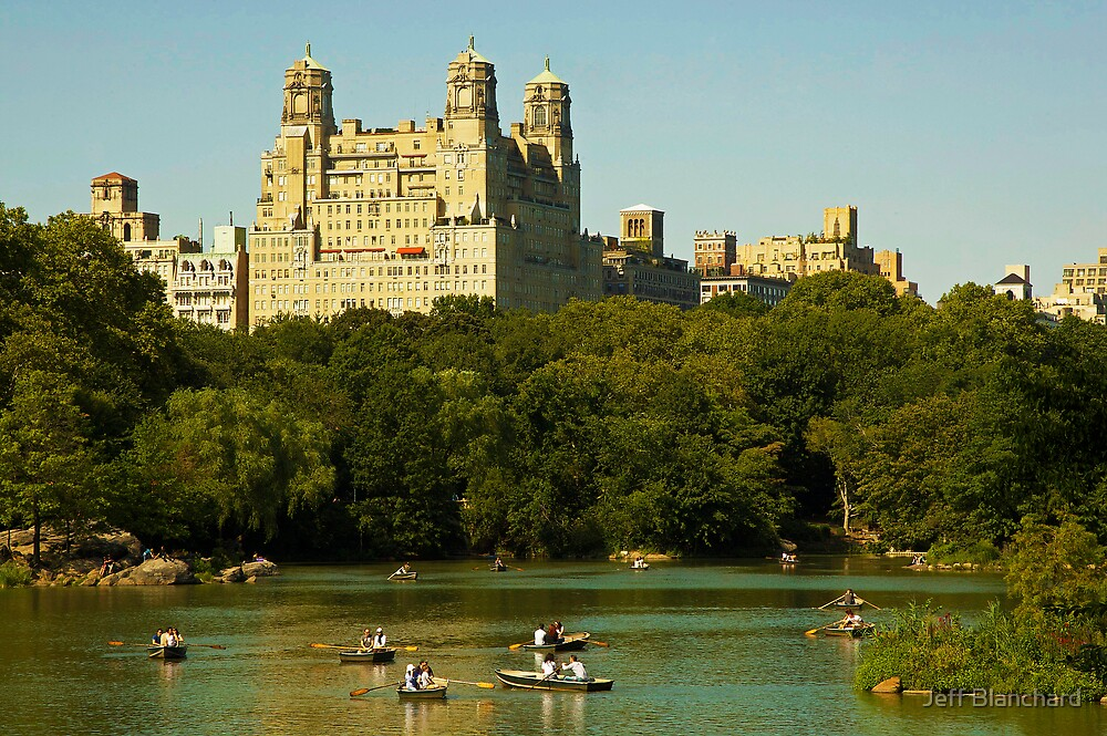 The Lake. Central Park by Jeff Blanchard