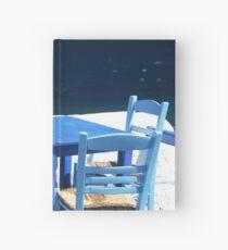 TAVERN, SKOPELOS Hardcover Journal