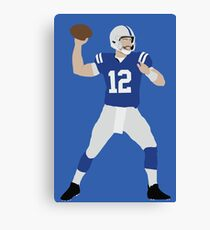 Andrew Luck Canvas Print