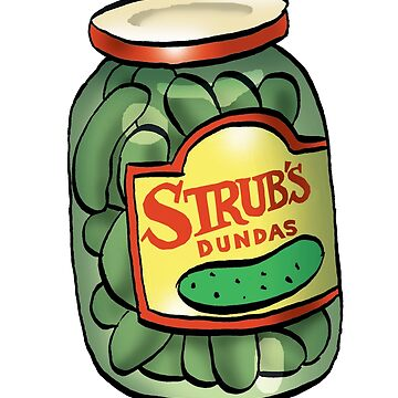 Strub Pickles by MacKaycartoons
