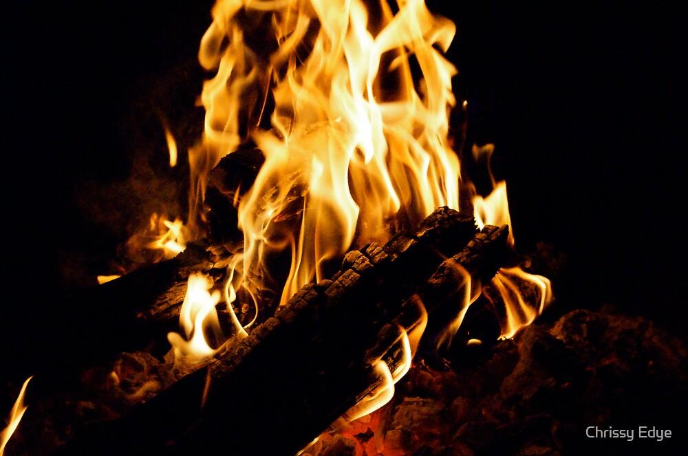Fire by Chrissy Edye