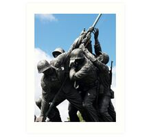 Remembering Iwo Jima Art Print