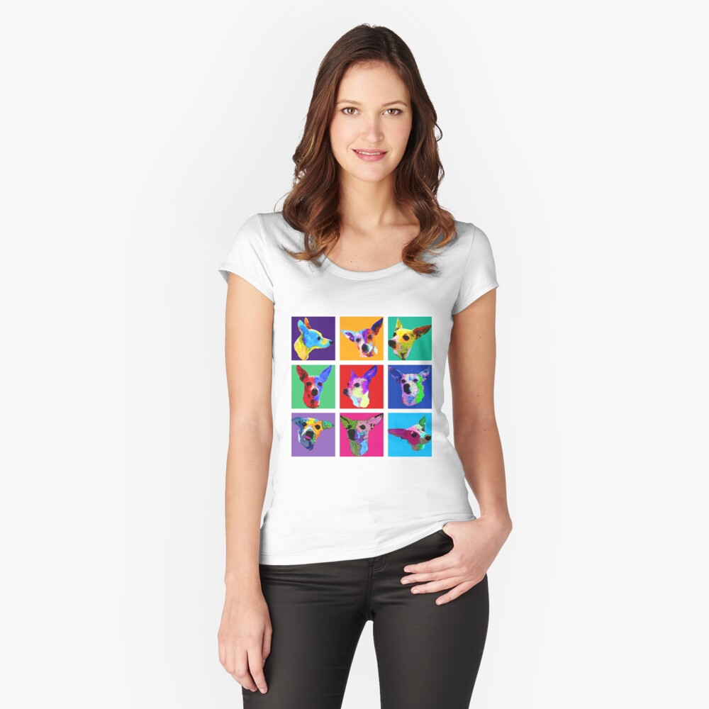 Maggie Warholed Fitted Scoop T-Shirt