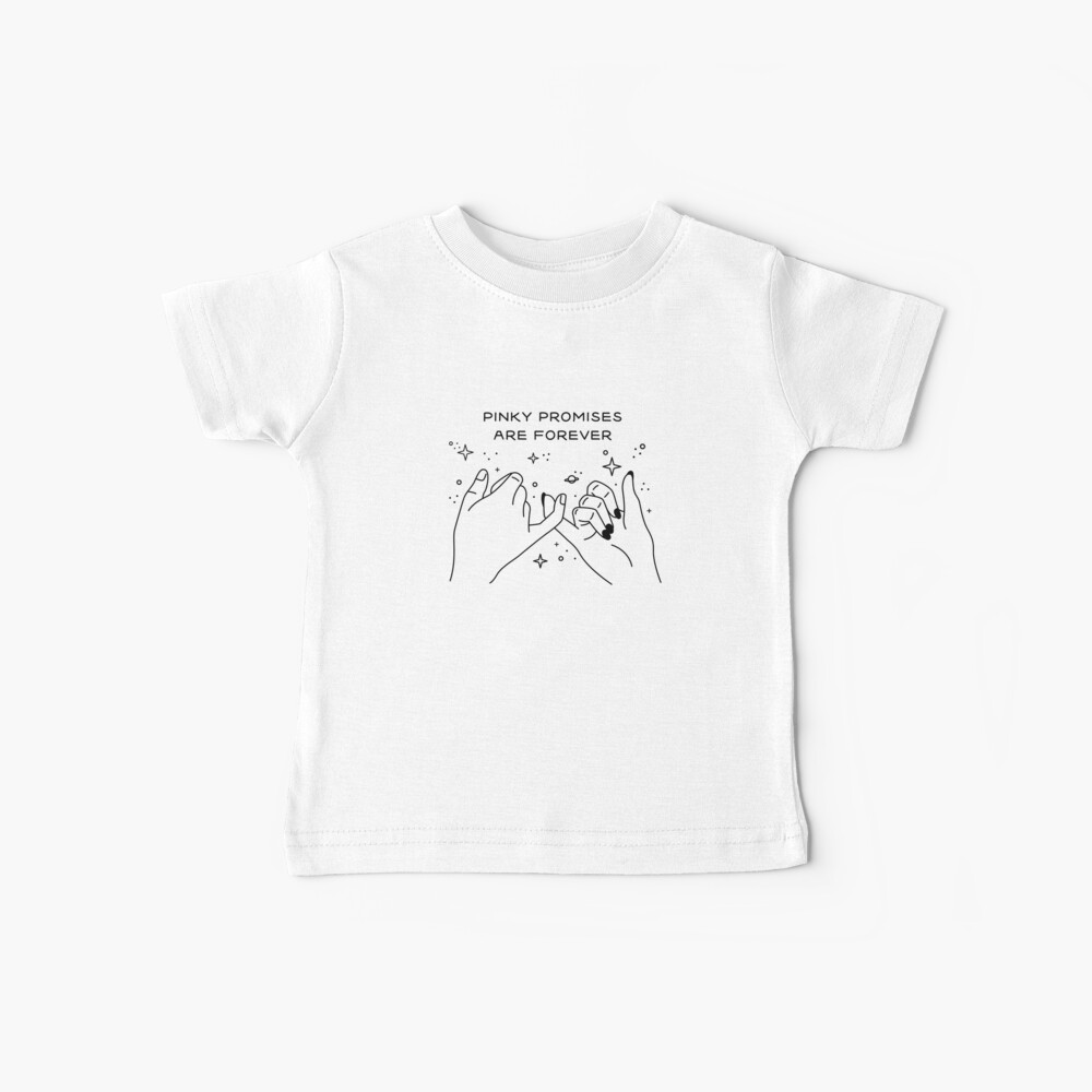 Pinky Promises are Forever Camiseta para bebés