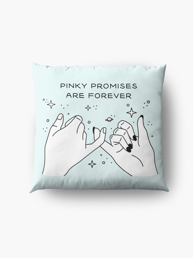 Vista alternativa de Cojines de suelo Pinky Promises are Forever