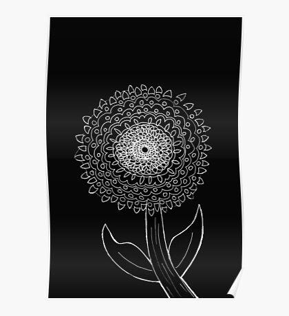 Beaut Ball Bloom Poster