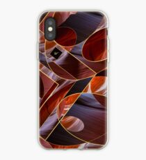 gold geometry & canyon sandstone iPhone Case