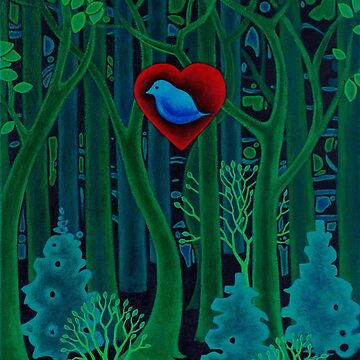 Heart of the Forest by Manter-Bolen