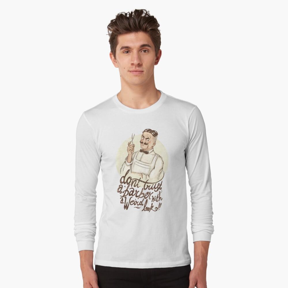 The Barber Long Sleeve T-Shirt