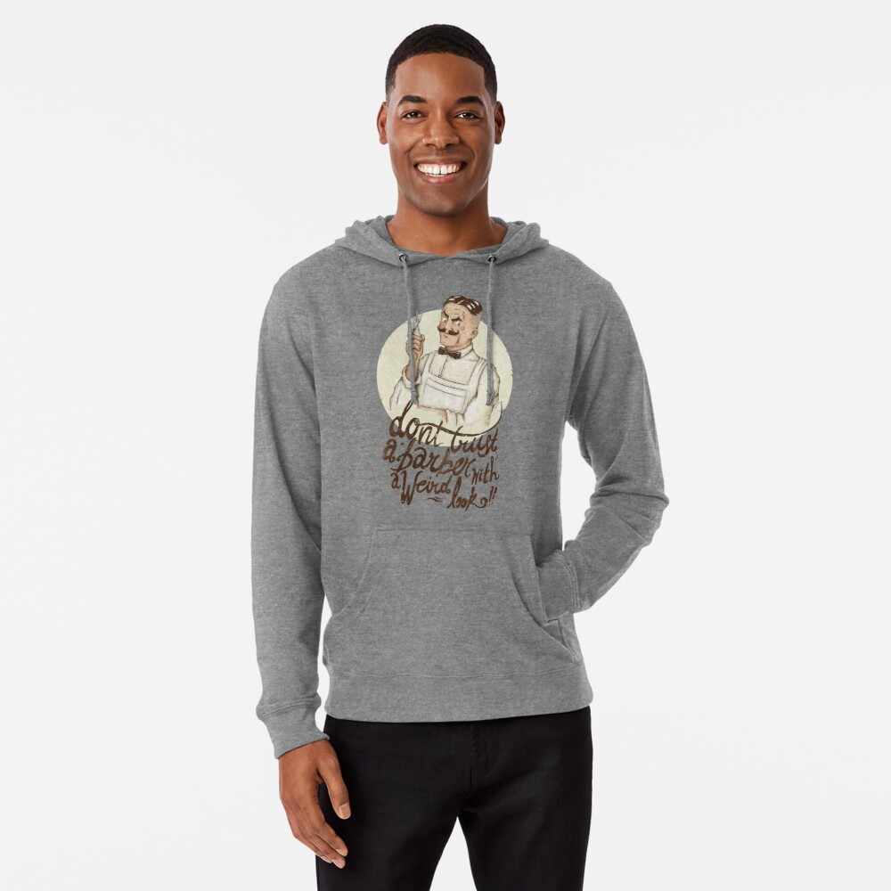 The Barber Lightweight Hoodie