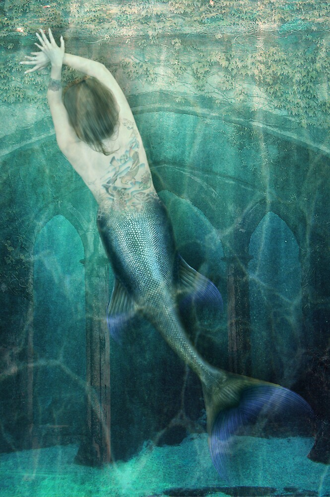 The Tattoo Mermaid by Andrew Gordon