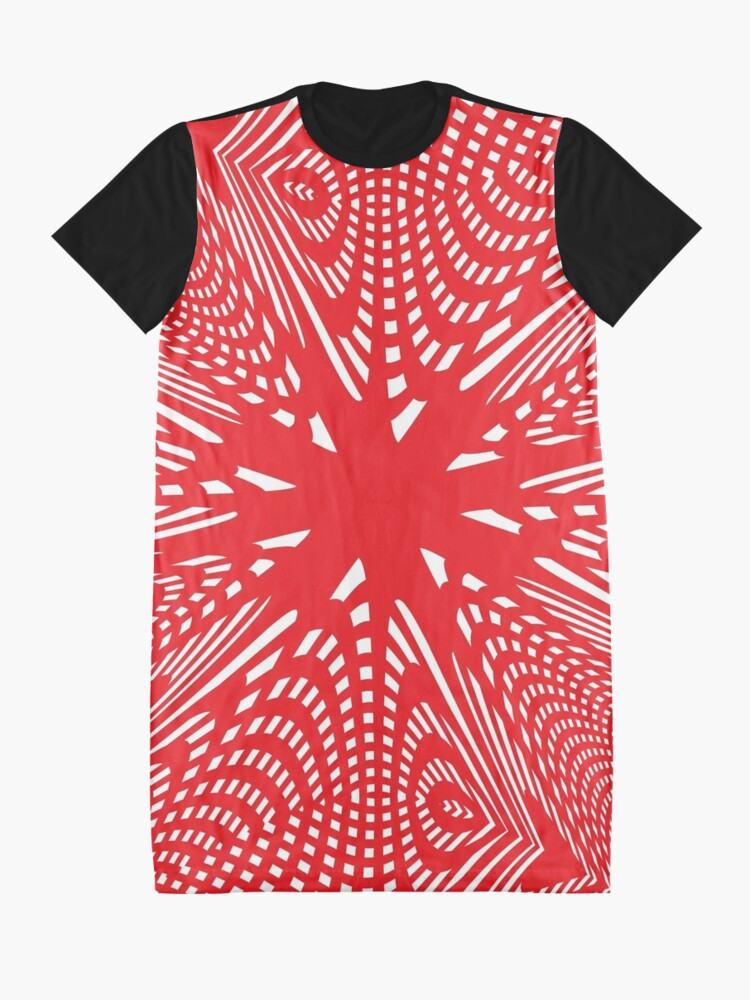Alternate view of Art #Art #abstract #pattern #design #blue #fractal #wallpaper #digital #graphic #texture #green #art #backdrop #pink #light #red #flower #decorative #star #purple #white #color #psychedelic #geom Graphic T-Shirt Dress