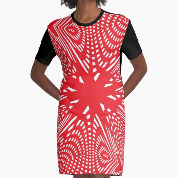 Art #Art #abstract #pattern #design #blue #fractal #wallpaper #digital #graphic #texture #green #art #backdrop #pink #light #red #flower #decorative #star #purple #white #color #psychedelic #geom Graphic T-Shirt Dress