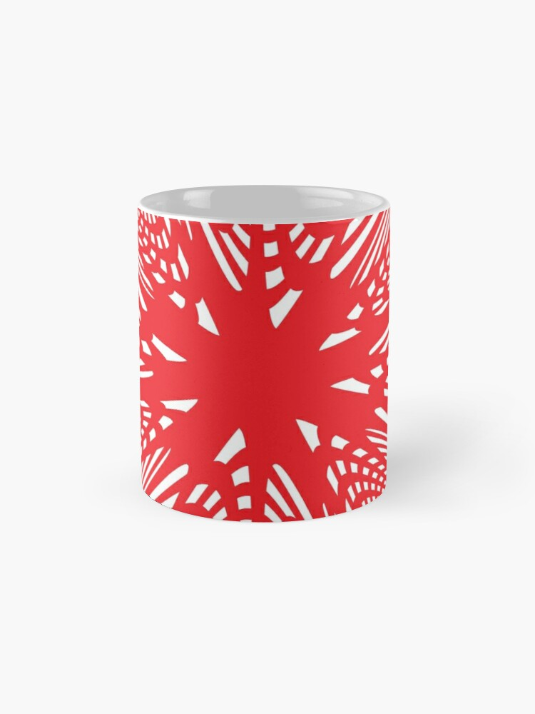 Alternate view of Art #Art #abstract #pattern #design #blue #fractal #wallpaper #digital #graphic #texture #green #art #backdrop #pink #light #red #flower #decorative #star #purple #white #color #psychedelic #geom Mug