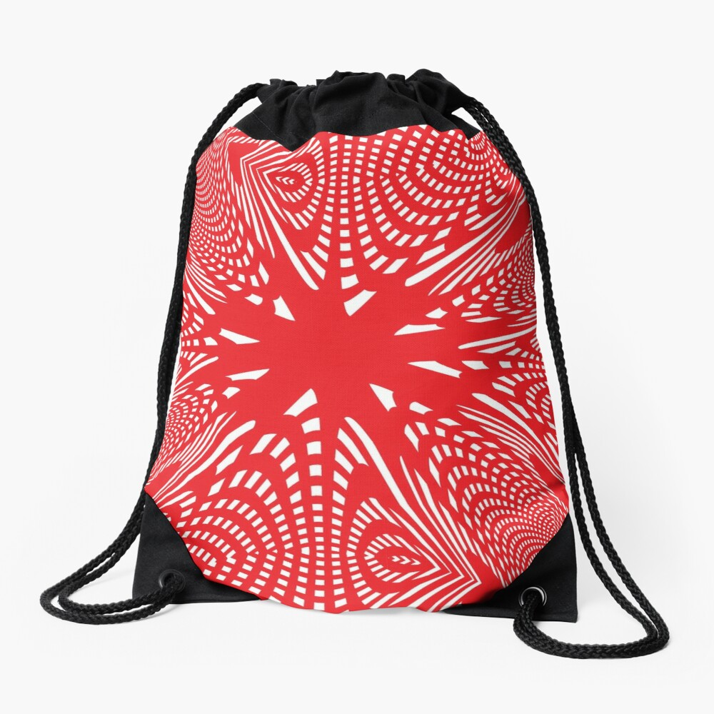 Art #Art #abstract #pattern #design #blue #fractal #wallpaper #digital #graphic #texture #green #art #backdrop #pink #light #red #flower #decorative #star #purple #white #color #psychedelic #geom Drawstring Bag