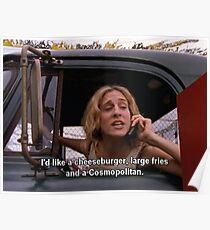 Póster Sexo y la ciudad, Carrie Bradshaw