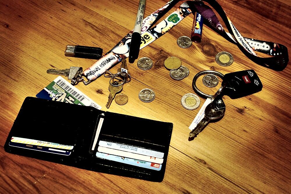 Pocket items. by Georgy Dhanjal