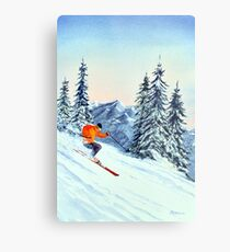 Skiing - The Clear Leader Metal Print