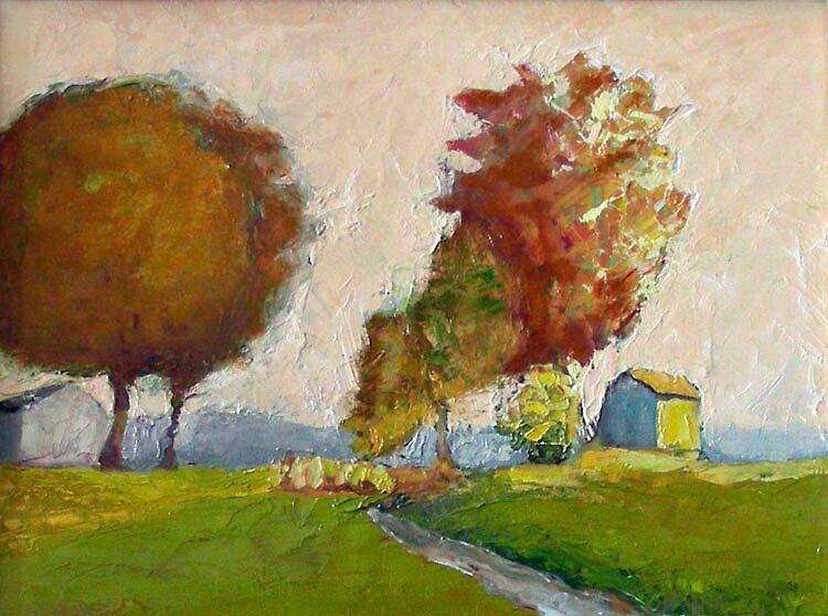 Covey Point Farm by Phyllis Dixon