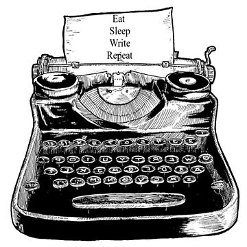 Eat, Sleep, Write, Repeat by ButterfliesT