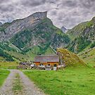 Local Cheese Factory At and Seealpsee Appenzell Switzerland by Susan Dost