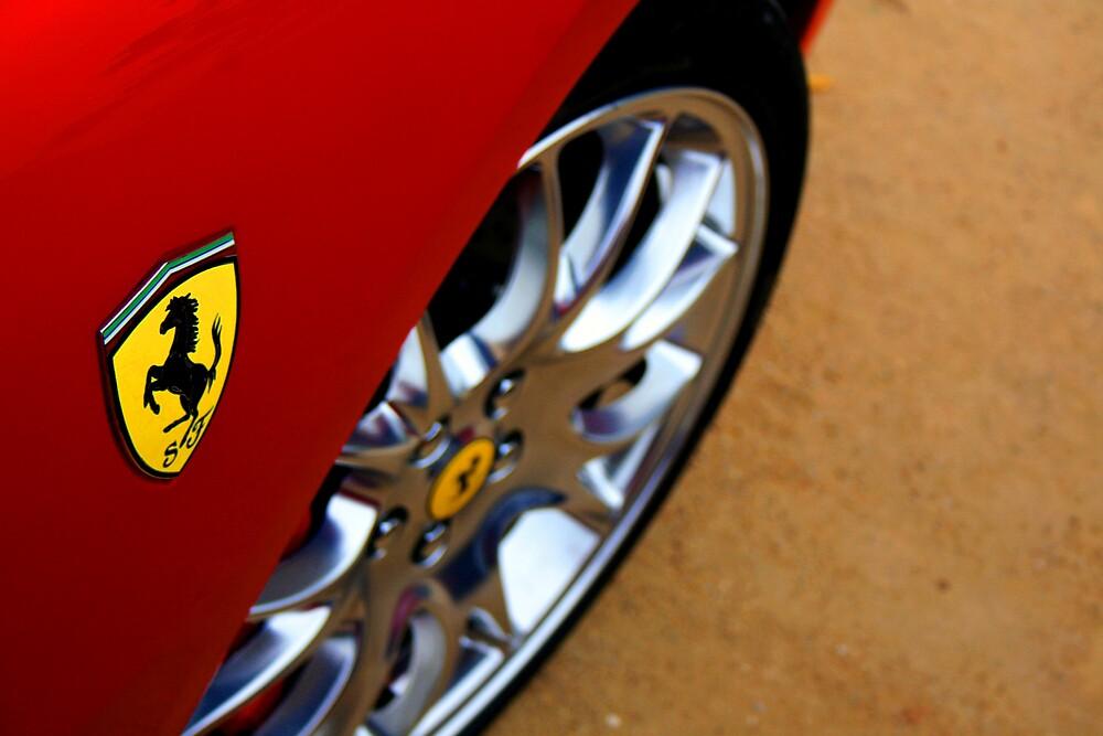Scuderia Ferrari by Waqar