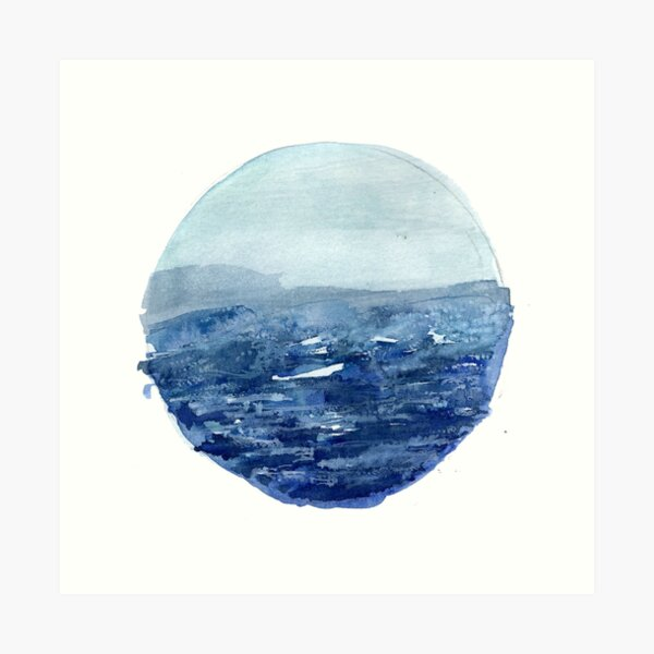 Around the Ocean Art Print