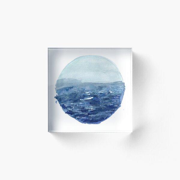 Around the Ocean Acrylic Block