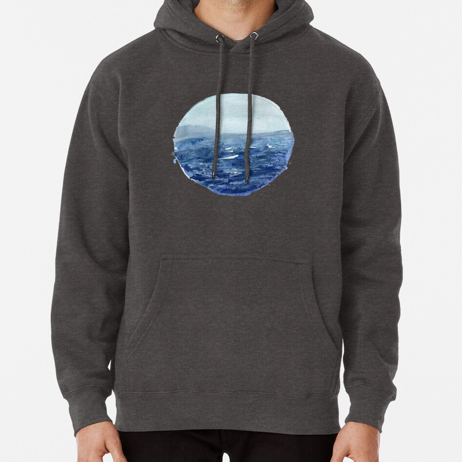 Around the Ocean Pullover Hoodie