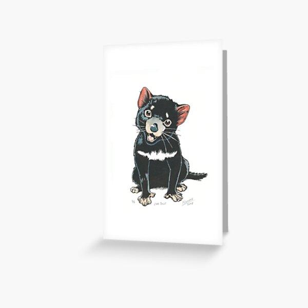 Baby Tasmainan devil Greeting Card
