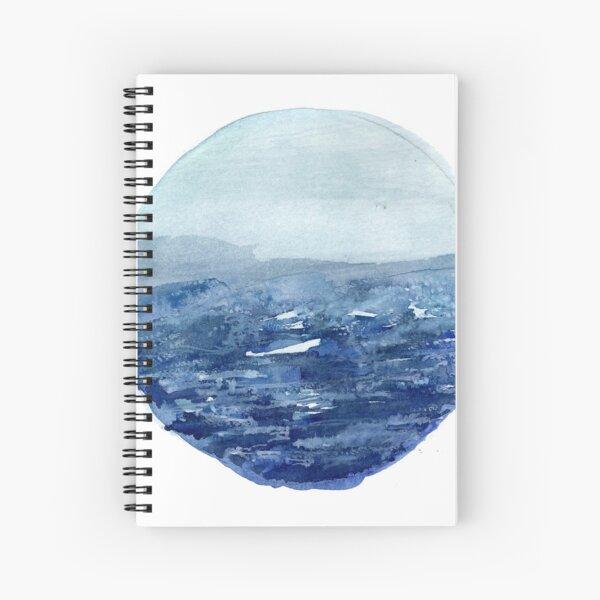 Around the Ocean Spiral Notebook