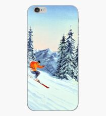 Skiing - The Clear Leader iPhone Case