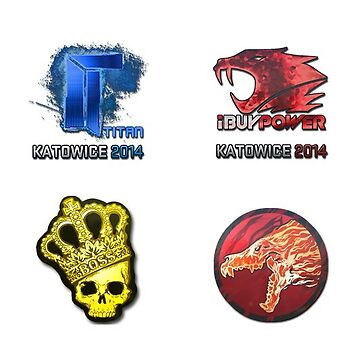 IBuyPower - Titanium - Crown and Howl Sticker / 4in1 by NIKOisCREATING