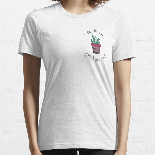 Watering plastic plants (Turn - The Wombats) Essential T-Shirt
